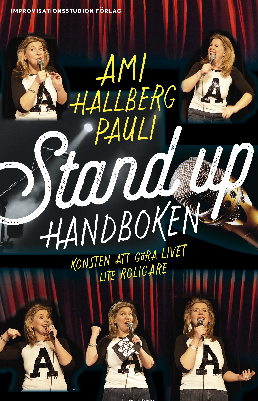 Jag har skrivit en boook! Den första renodlade stand up-handboken på svenska! Release den 2 feb 2018